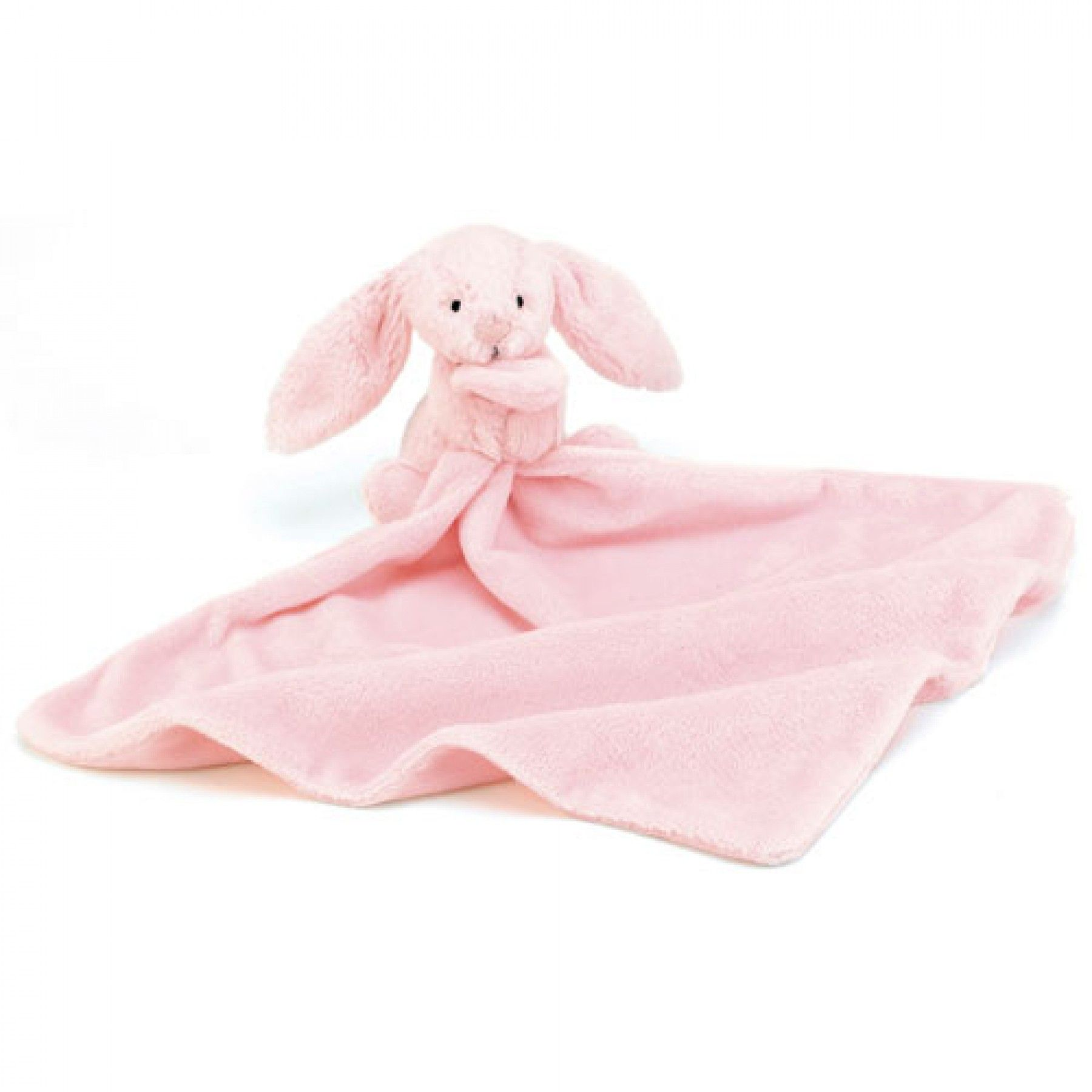 bashful pink bunny soother | jellycat