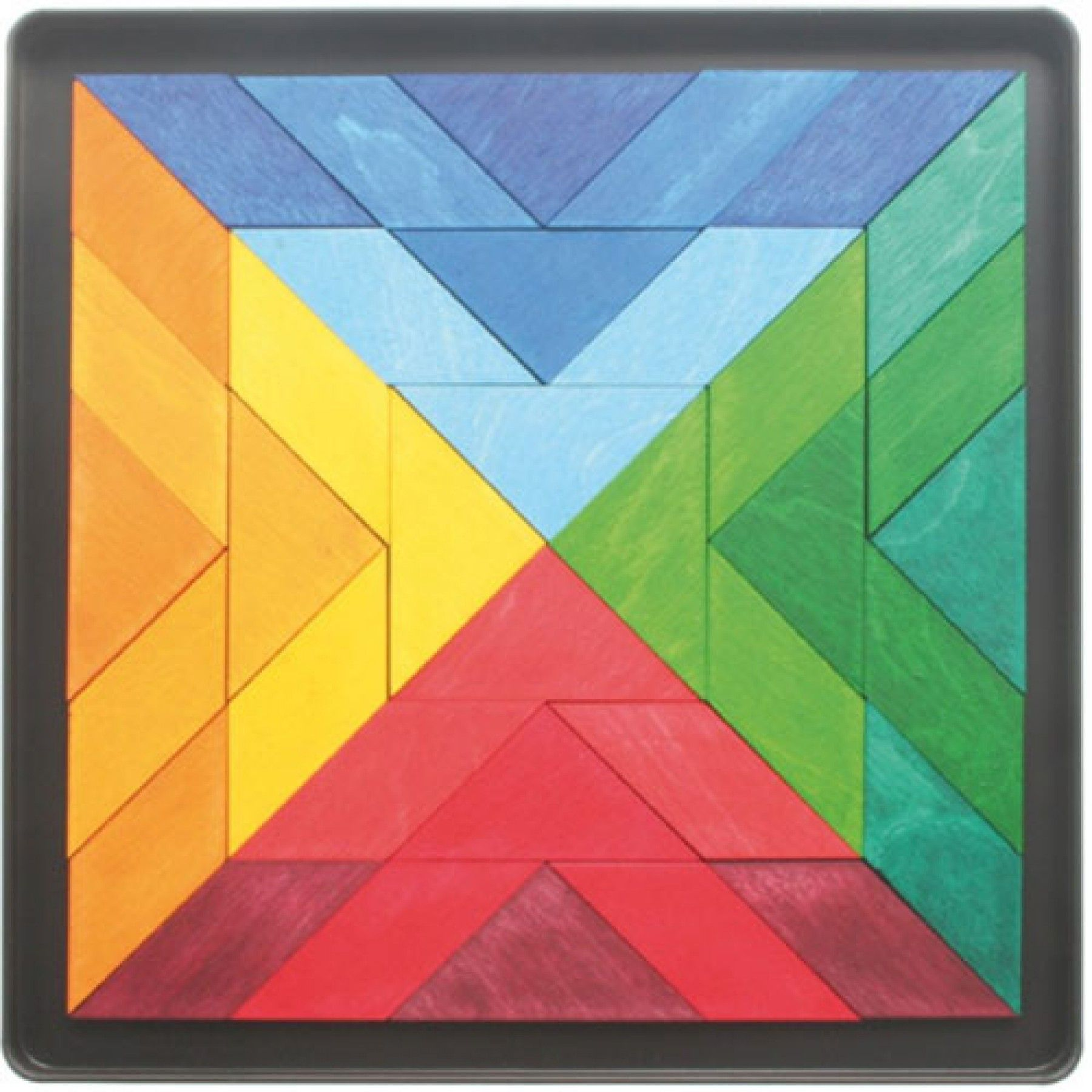 grimm's magneetpuzzel indian square 90100 | ilovespeelgoed.nl