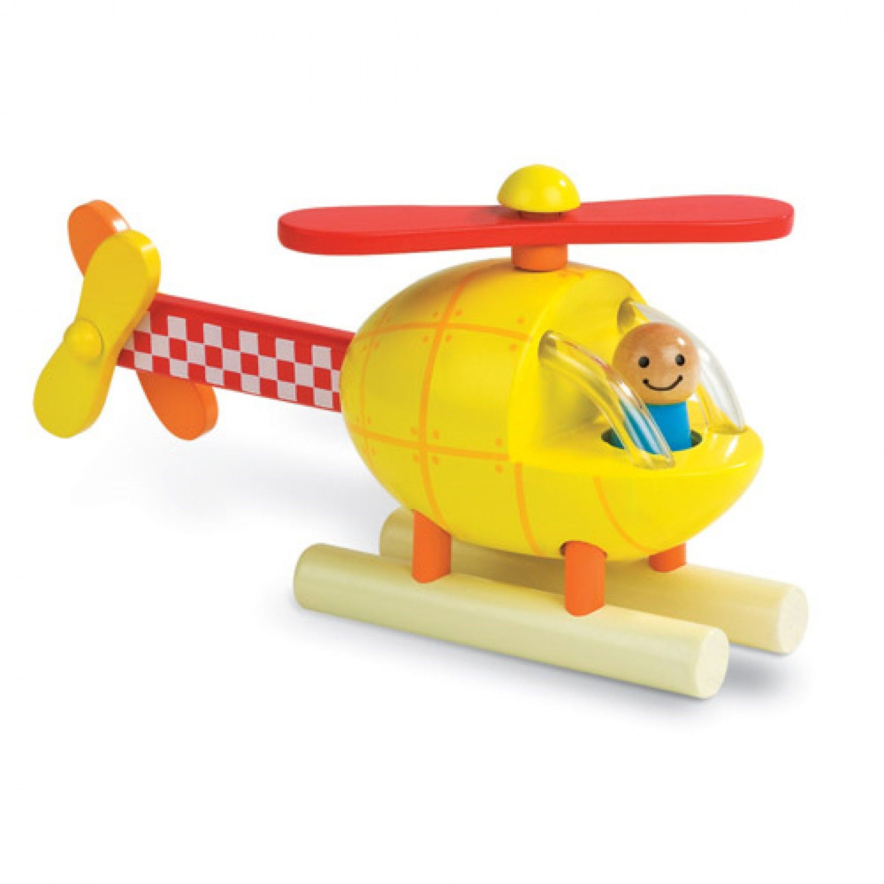 janod magneetpuzzel helicopter 5206 | ilovespeelgoed.nl