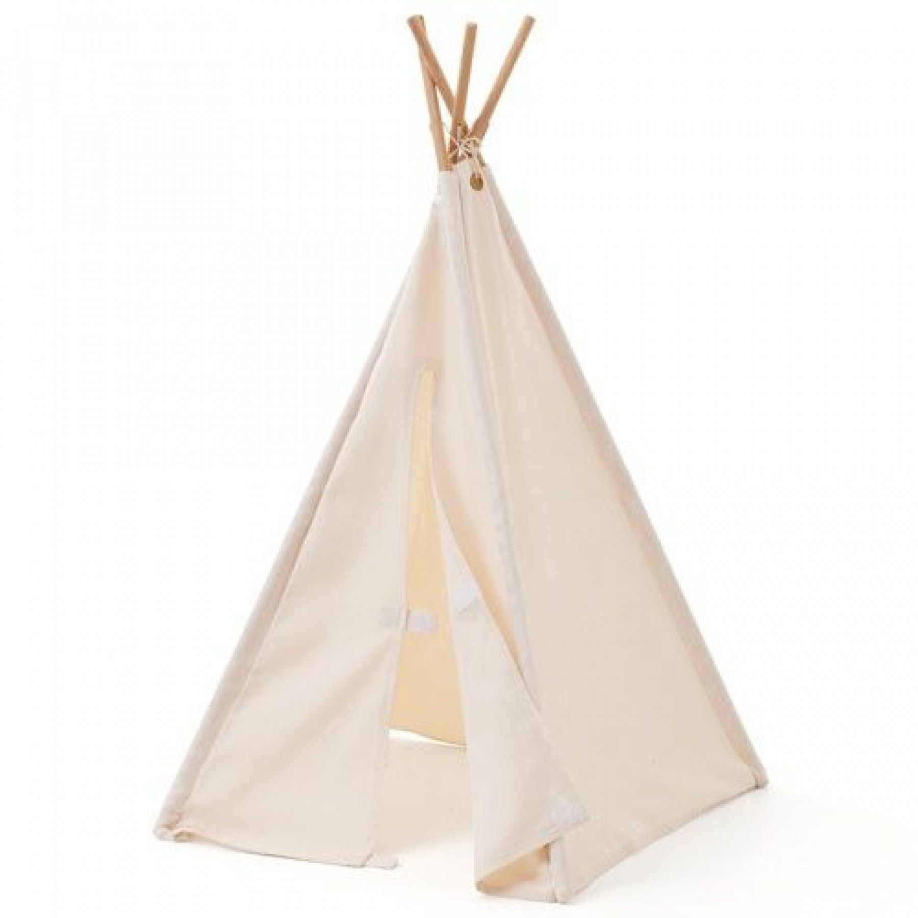 kids concept tipi wigwam mini - naturel 53x53x75 cm