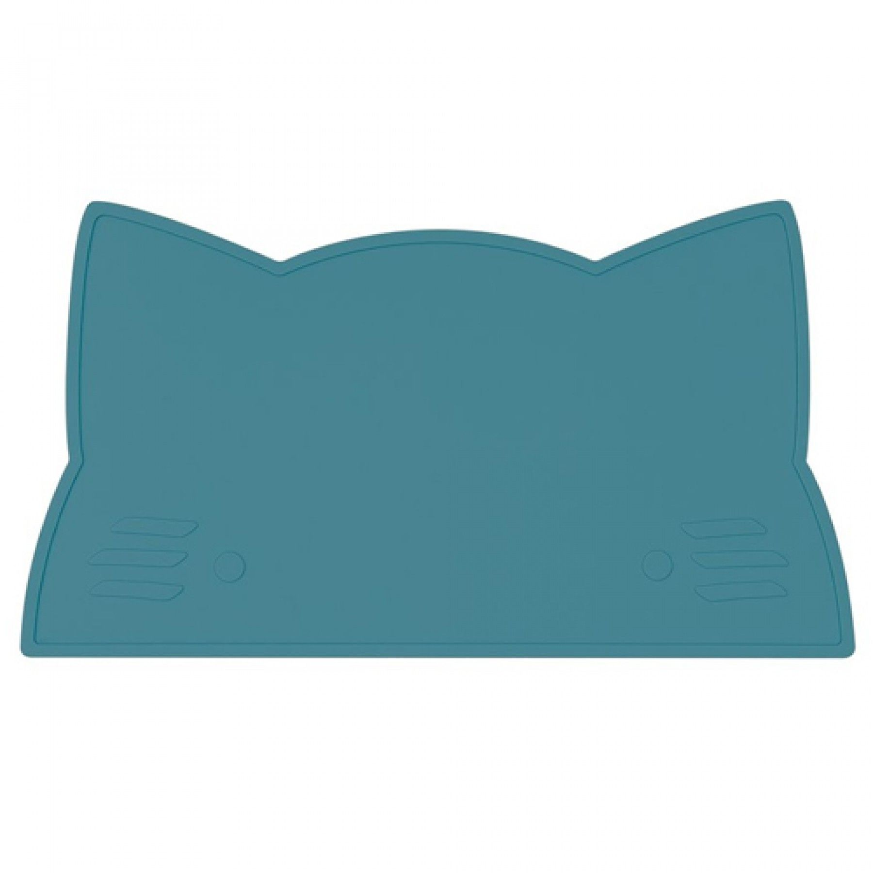 we might be tiny placemat poes - blauwgroen | ilovespeelgoed.nl