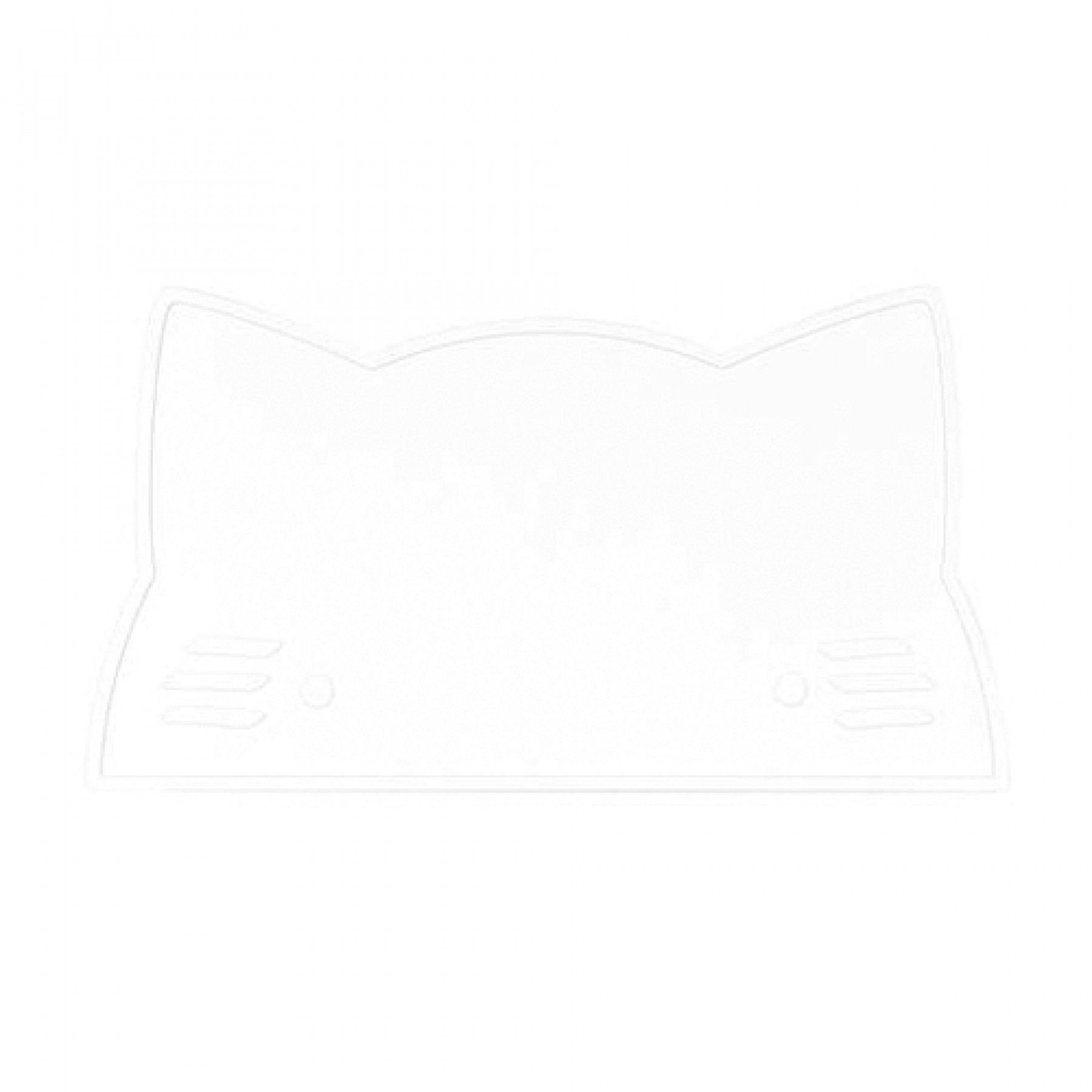 we might be tiny placemat poes - wit | ilovespeelgoed.nl