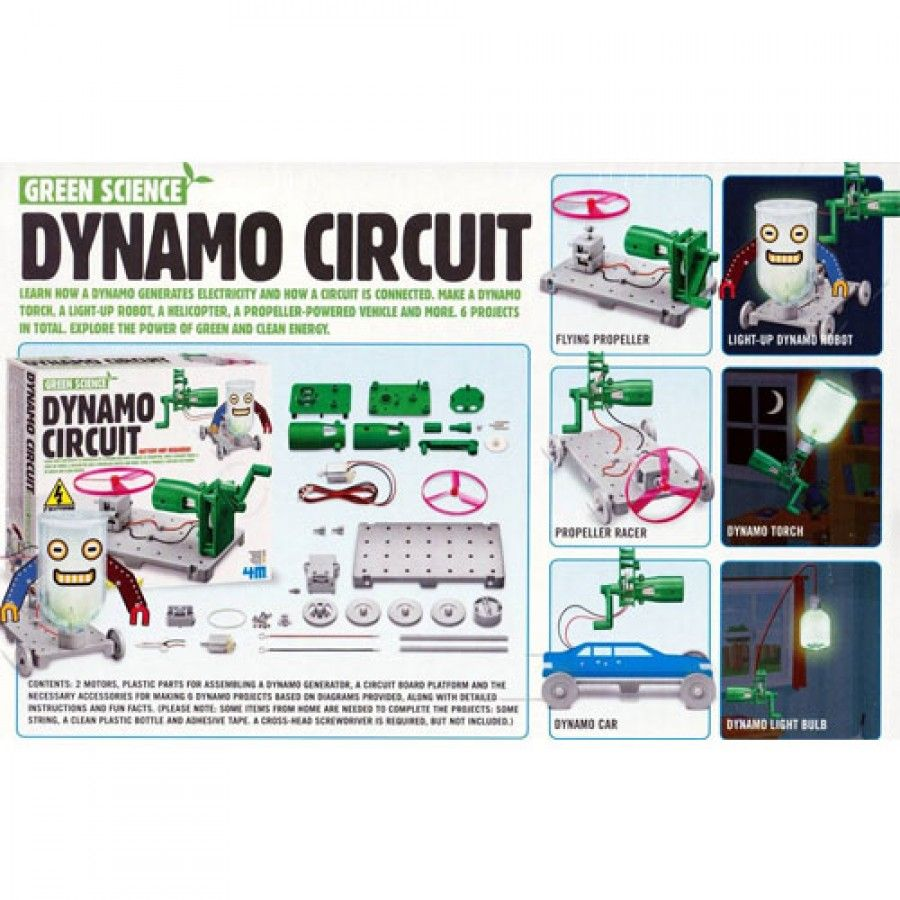 4m Dynamo Circuit Je604251 Diagram