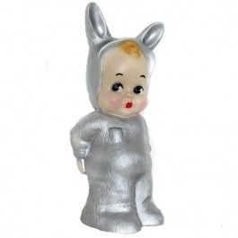 lapin & me lamp bunny zilver | ilovespeelgoed.nl