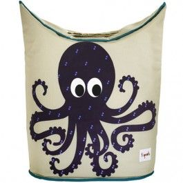 3 sprouts wasmand octopus 107-003-007 | ilovespeelgoed.nl