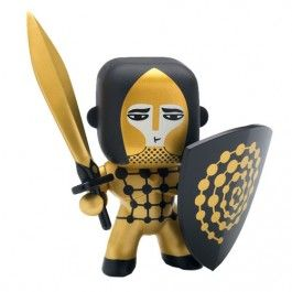 arty toys - golden knight | djeco