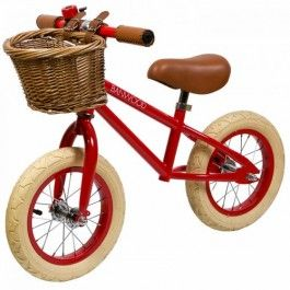 banwood loopfiets first go! - rood BW-F1-RED | ilovespeelgoed.nl