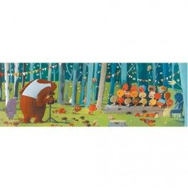 puzzel gallery forest friends (100st) | djeco