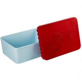 blafre lunchbox tractor rood | ilovespeelgoed.nl