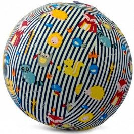 bubabloon balloon cover - animals stripes blue | ilovespeelgoed.nl