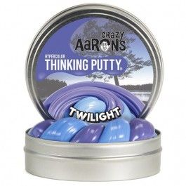 crazy aarons hypercolor thinking putty - twilight | ilovespeelgoed.nl