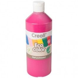 creall eco color plakaatverf 500ml - creall eco color plakaatverf 500ml - cyclaam | ilovespeelgoed.nl