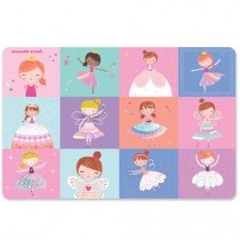 crocodile creek placemat sweet dreams 382831-6 | ilovespeelgoed.nl