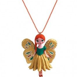 djeco kinderketting lovely charms - butterfly | ilovespeelgoed.nl
