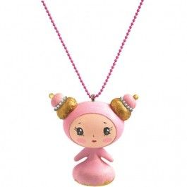 djeco kinderketting lovely charms - sweet | ilovespeelgoed.nl