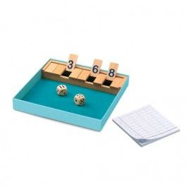 djeco strategiespel shut the box | ilovespeelgoed.nl