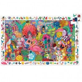 djeco puzzel observation rio carnaval (200st) | ilovespeelgoed.nl