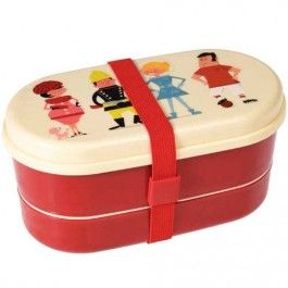 rex london bento box met bestek - world of work | ilovespeelgoed.nl