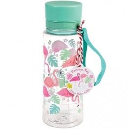 rex london waterfles flamingo (600ml) | ilovespeelgoed.nl