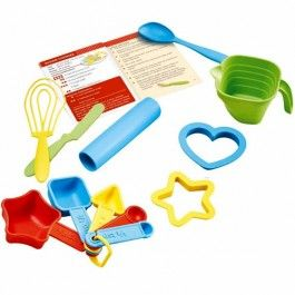 green toys bakset bake by shape - gerecycled | ilovespeelgoed.nl