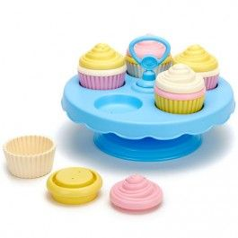 green toys cupcake set - gerecycled | ilovespeelgoed.nl