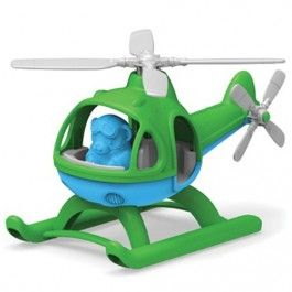 green toys zeehelicopter blauw - gerecycled | ilovespeelgoed.nl