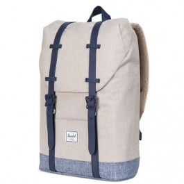 herschel rugzak retreat youth light khaki | ilovespeelgoed.nl