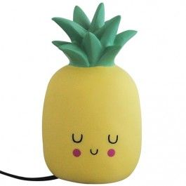 house of disaster LED kinderlamp pineapple - 25 cm | ilovespeelgoed.nl