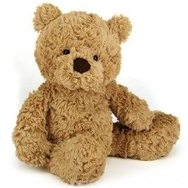 jellycat knuffelbeer bumbly bear - s - 30 cm | ilovespeelgoed.nl