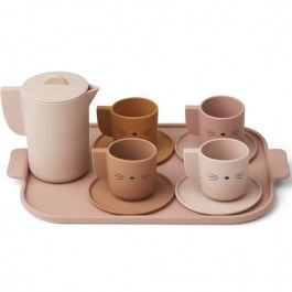 liewood theeservies ophelia - multi rose mix | ilovespeelgoed.nl