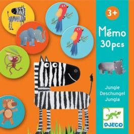 memorie jungle | djeco