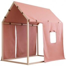 nobodinoz balear home roof box - dolce vita pink | ilovespeelgoed.nl