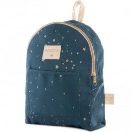 nobodinoz mini rugzak too cool - gold stella night blue | ilovespeelgoed.nl
