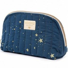 nobodinoz toilettas holiday - gold stella night blue (s) | ilovespeelgoed.nl