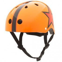 kinderhelm orange star - S | coconuts