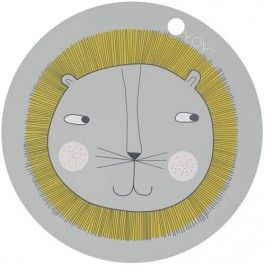 oyoy placemat lion | ilovespeelgoed.nl