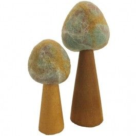 papoose toys bomen earth - 2st | ilovespeelgoed.nl