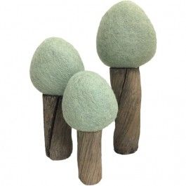 papoose toys bomen earth - zomer - 3st | ilovespeelgoed.nl
