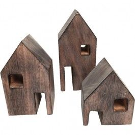 papoose toys huizen - 3st | ilovespeelgoed.nl