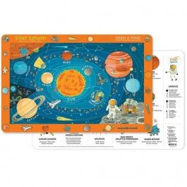 crocodile creek placemat solar system