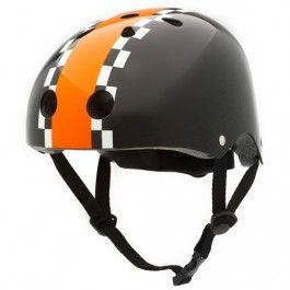 kinderhelm black racing - M | coconuts