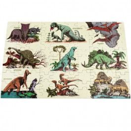 rex london puzzel glow in the dark - prehistoric land - 100st | ilovespeelgoed.nl