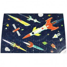 rex london puzzel glow in the dark - space age - 100st | ilovespeelgoed.nl