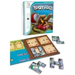 smart games magnetisch puzzelspel busy bugs | ilovespeelgoed.nl