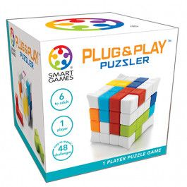 smart games puzzelspel plug & play puzzler | ilovespeelgoed.nl