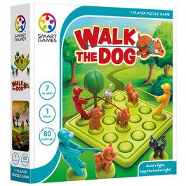smart games puzzelspel walk the dog | ilovespeelgoed.nl
