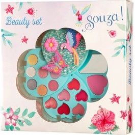 souza for kids make-up luxe set - hart | ilovespeelgoed.nl