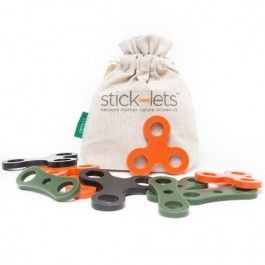 stick-lets camouflage kit - 10st | ilovespeelgoed.nl