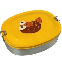the zoo lunchbox - otters | ilovespeelgoed.nl