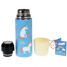 rex london rvs thermosfles unicorn (350ml) | ilovespeelgoed.nl